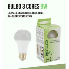 Lampada-Led-Bulbo-3-cores-em-1-Bivolt-E27-9W---City-Lumi-3C-C-foto-1