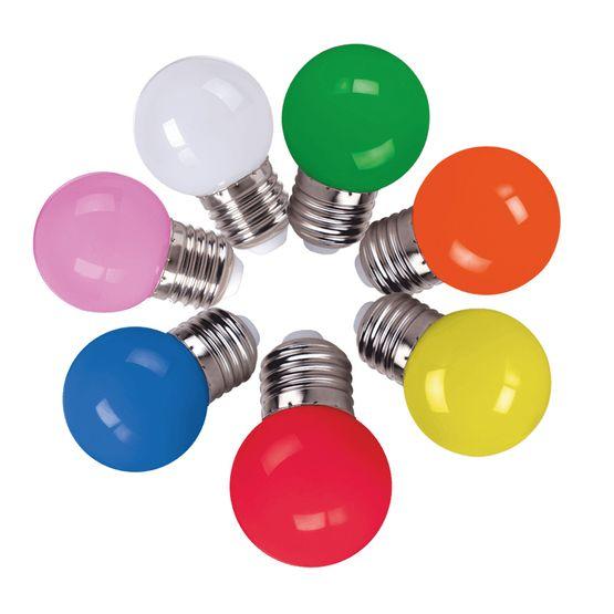 Lampada-Bolinha-1W-Led-E27-CTB-Varias-cores-foto1