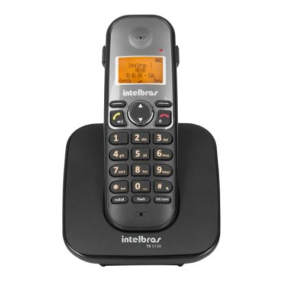 Telefone-Sem-Fio-Digital-TS-5121-Preto-Intelbras_foto1