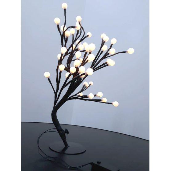 Arvore-de-Natal-com-48-Bolas-com-8-Funcoes-Branco-Quente-Bivolt-Brilliant-foto1