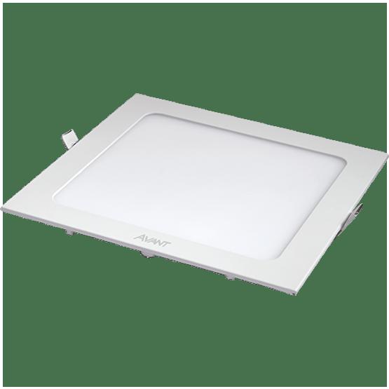 Luminaria-Downlight-Led-Quadrada-6W-3000k-Embutir-Bivolt---Avant