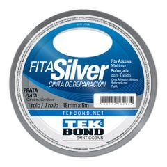 Fita-Silver-Tape-48x5-metros-Cinza---Tekbond-