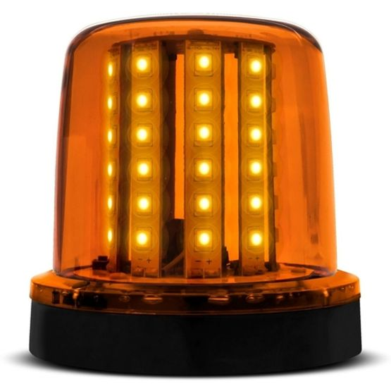 Sinalizador-LED-Ambar-12V-128-LEDs-Com-Ima-AP695---Autopoli