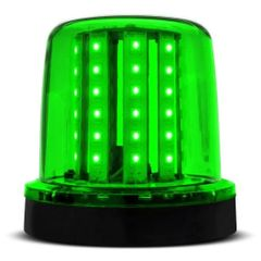 Sinalizador-LED-Verde-12V-128-LEDs-Com-Ima-AP693---Autopoli