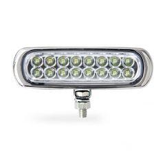 Farol-Auxiliar-Slim-16-LEDs-Corpo-Cromado-Branca-12V-Individual-AP936---Autopoli
