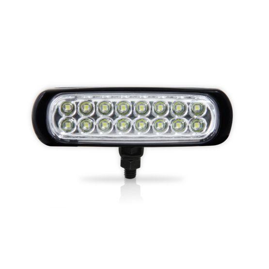 Farol-Auxiliar-Slim-16-LEDs-Corpo-Preto-Branca-24V-Individual-AP942---Autopoli