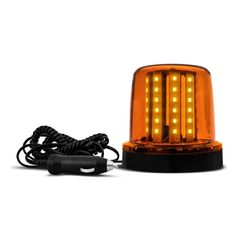 Sinalizador-LED-Ambar-24V-Cabo-Especial-54-LEDs-Com-Ima-AL526---Autopoli