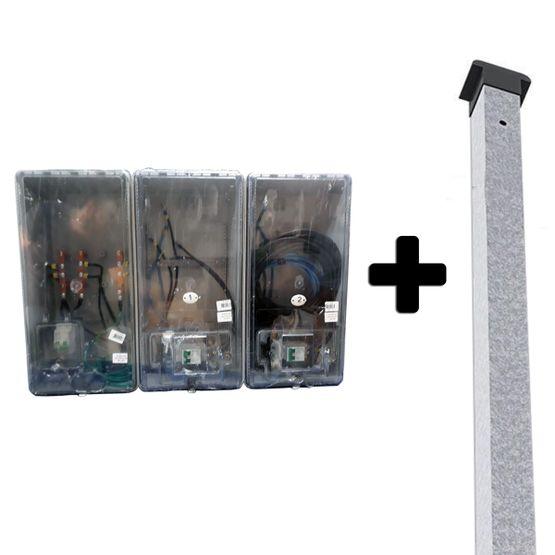 Caixa-Policarbonato-2-Medidores-e-Poste-foto1
